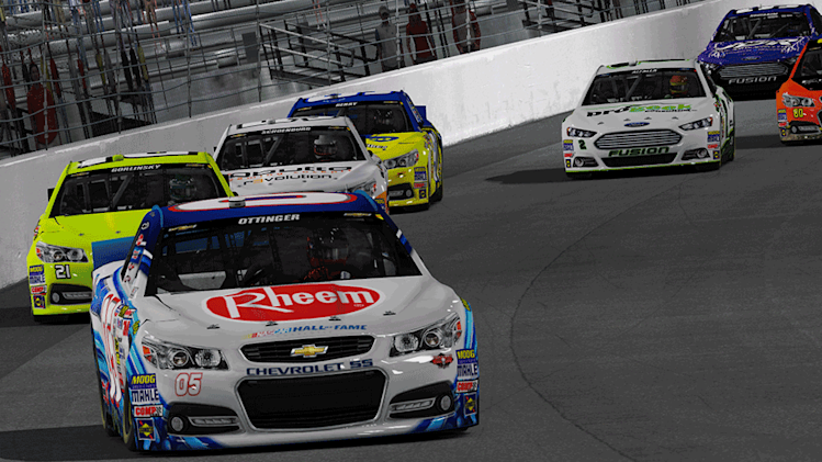 Ottinger steals Richmond for second straight iRacing win