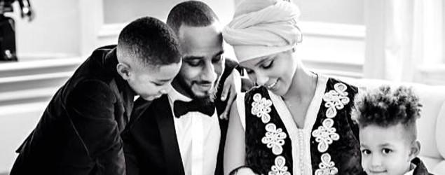Alicia Keys shares first photo of son Genesis