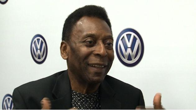 Pele admits worries over Brazil's World Cup preparations