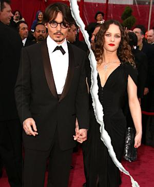 Johnny Depp, Vanessa Paradis Split