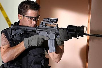 Colin Farrell in Columbia's S.W.A.T.