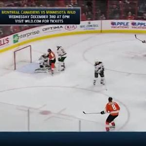 Darcy Kuemper Save on Mark Streit (04:17/3rd)