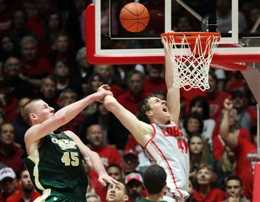 No. 15 New Mexico beats Colorado State 66-61