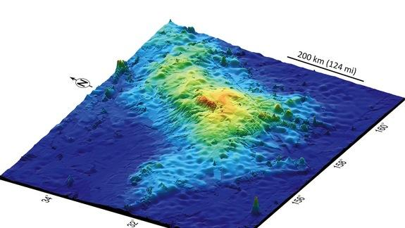 Largest Volcano on Earth Lurks Beneath Pacific Ocean