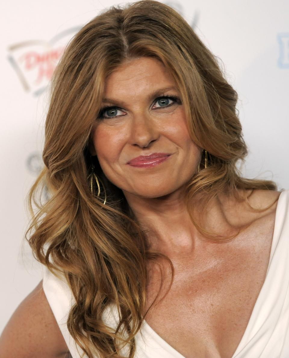 "FILE - In this Aug. 27, 2010 file photo, actress Connie Britton arrives at the 62nd Primetime Emmy Awards Performers Nominee Reception in West Hollywood, Calif. FX has ordered 13 episodes of the drama, ""American Horror Story,"" whose cast  includes Dylan McDermott, Connie Britton and Jessica Lange. (AP Photo/Chris Pizzello, file)"