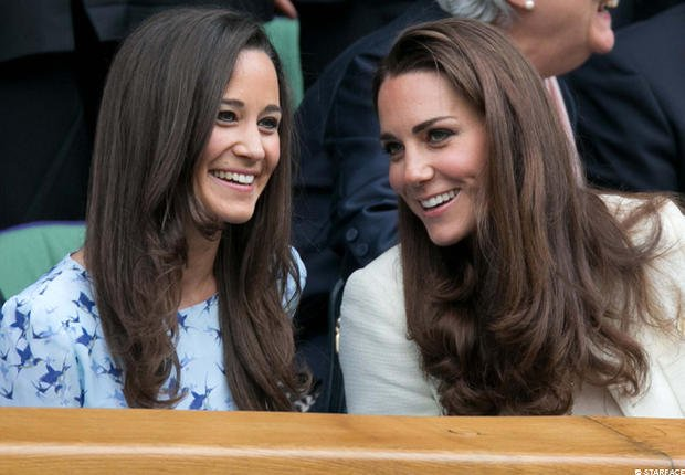 Pippa et Kate Middleton, princesses des courts