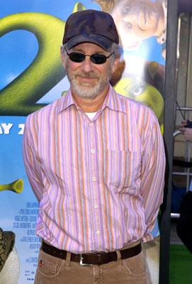Steven Spielberg at the L.A. premiere of Dreamworks' Shrek 2