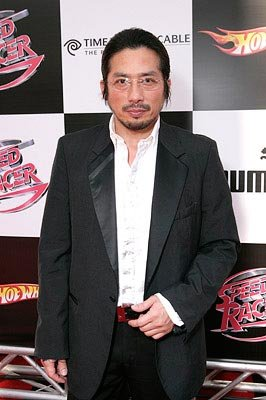 Hiroyuki Sanada at the Los Angeles premiere of Warner Bros. Pictures' Speed Racer