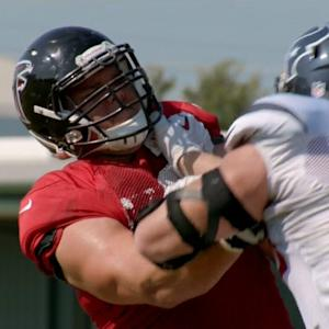 'Hard Knocks': J.J. Watt and Jake Matthews go head to head