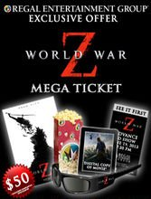 Paramount Offering $50 'Mega Ticket' For 'World War Z' Screening
