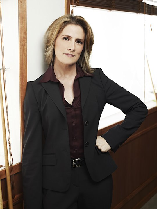 "Kirsten Nelson as Chief Karen Vickin ""Psych."""