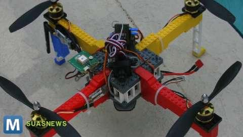 LEGO Drone is the Future of Brick by Brick Surveillance