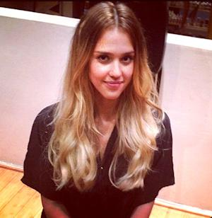 Jessica Alba Debuts Blonde Hair for Sin City 2 Stripper Role