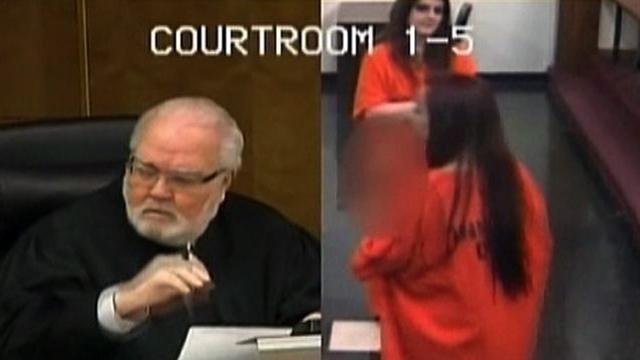 Judge sends Fla. woman to jail over expletives