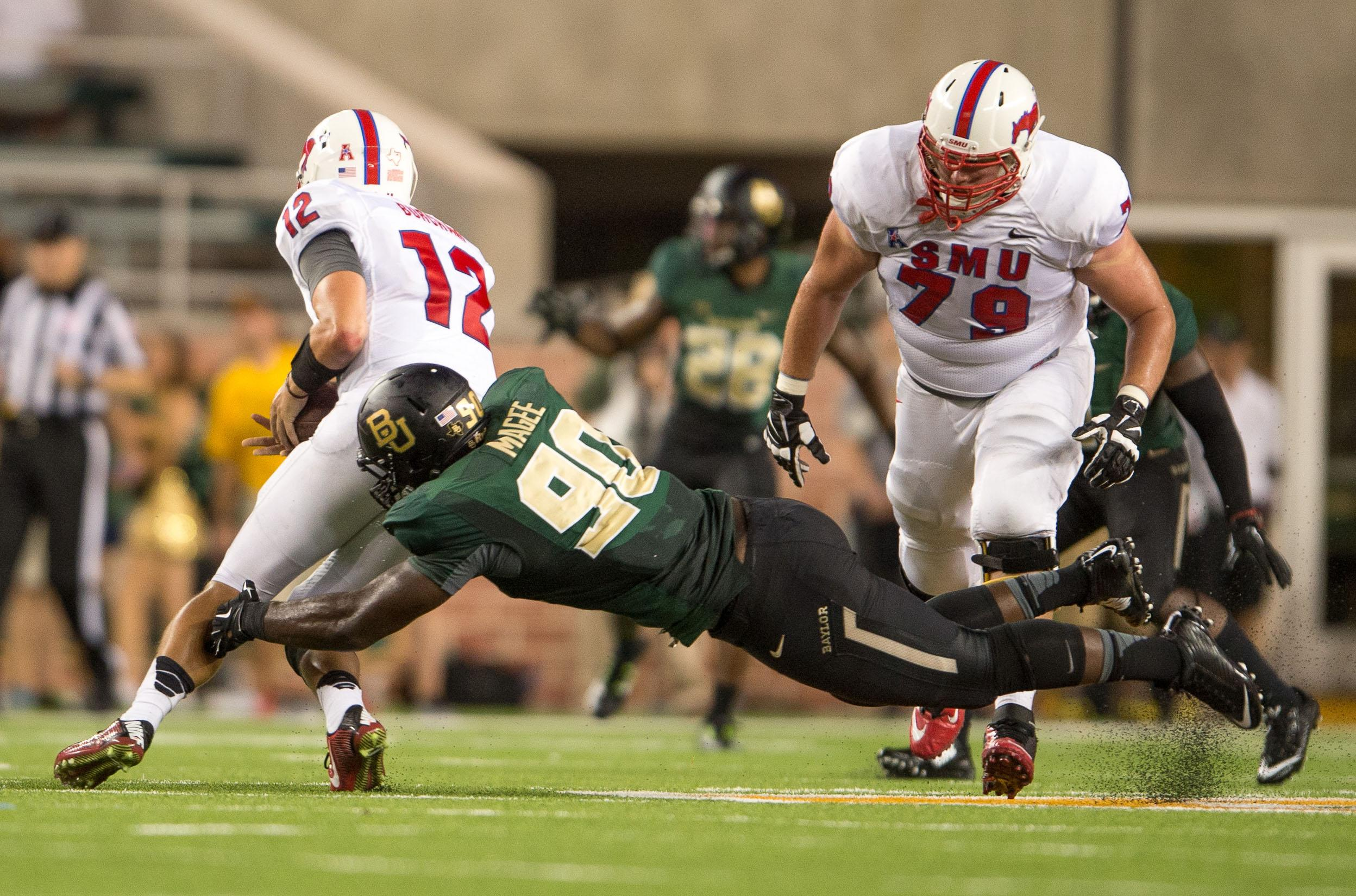 DL Javonte Magee not on Baylor's spring football roster