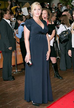 Kate Winslet Debuts Baby Bump on Red Carpet at Toronto Film Festival: Picture