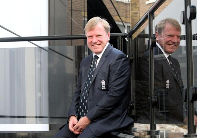 Cricket - Hugh Morris Photocall - Grange City Hotel