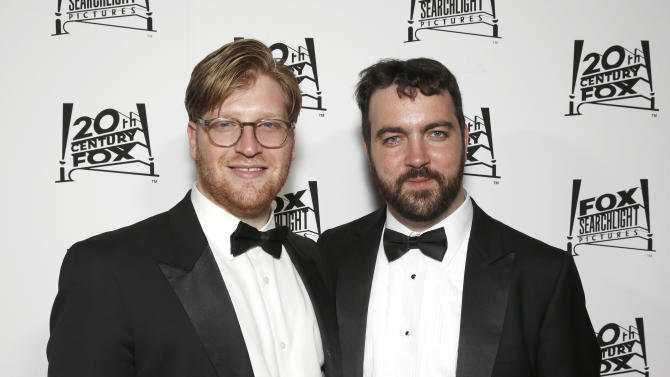 Dan Janvey and Josh Penn attend the Twentieth Century Fox And Fox Searchlight Pictures Academy Awards Nominees Party at Lure on Sunday, February 24, 2013 in Los Angeles. (Photo by Todd Williamson/Invision for Fox Searchlight/AP)