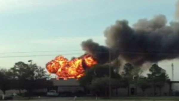 Chemical lab cited as cause of plant blast