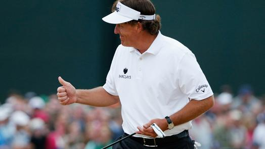Mickelson wins first Open with amazing finish