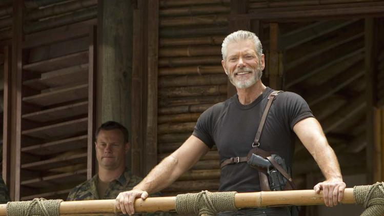 "Stephen Lang as Commander Nathaniel Taylor in ""Terra Nova."""