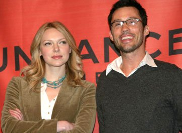Laura Prepon and Jeffrey Donovan