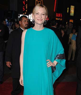 Cate Blanchett at the Universal City premiere of Universal Pictures' Elizabeth: The Golden Age