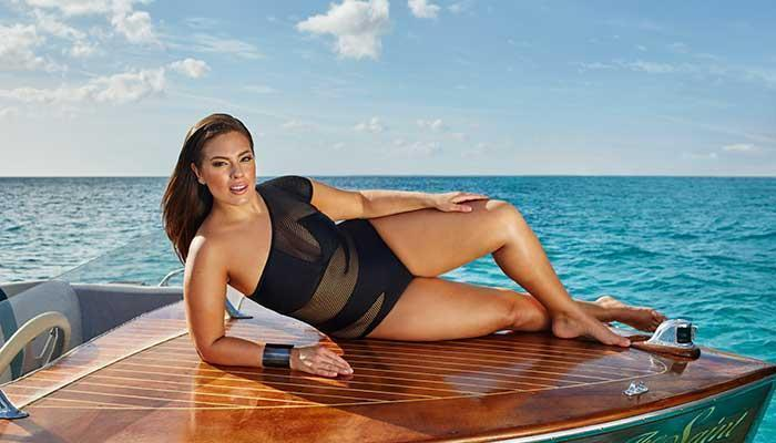 Ashley Graham on her swimsuit line, kissing Joe Jonas and more