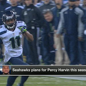 Seattle Seahawks' plan for wide receiver Percy Harvin