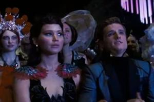 'Hunger Games: Catching Fire' TV Spot Highlights Awkward Love Triangle, Coldplay's 'Atlas' (Video)