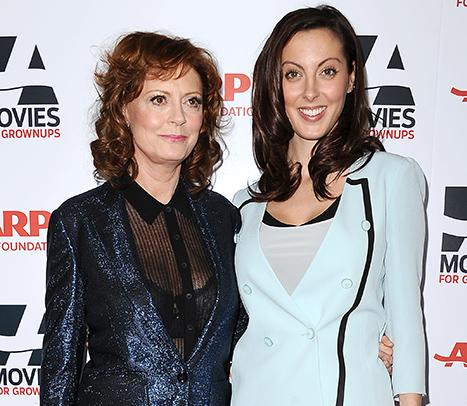 "Susan Sarandon Says She's ""Very Excited"" About Daughter Eva Amurri's Pregnancy, Reveals What Baby Gift She Already Bought Her"