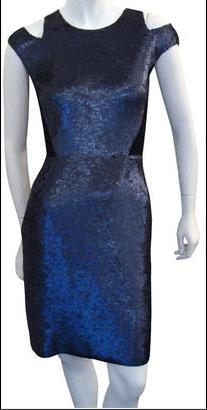 Proenza Schouler Sequin Cut-out Dress In Midnight - $2,300.00