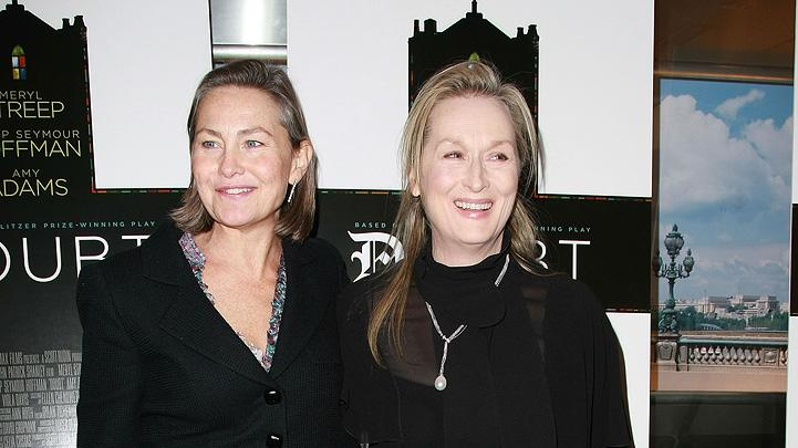Doubt NY Premiere 2008 Cherry Jones Meryl Streep