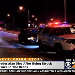 Pedestrian Dies After Being Struck By Two Cars In The Bronx