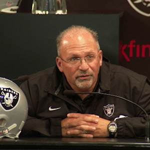 Oakland Raiders new head coach Tony Sparano: We have to remember how to win again