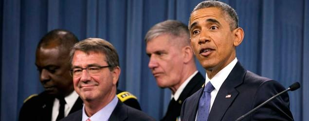 Obama defends progress against IS in Iraq, Syria