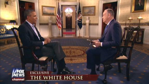 "UPDATE: Obama Slams ""Successful"" Fox News Again In Taped O'Reilly Interview"