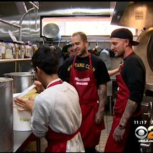 'Top Chef' Michael Voltaggio Cooks Up Annual Thanksgiving Meal At LA Mission