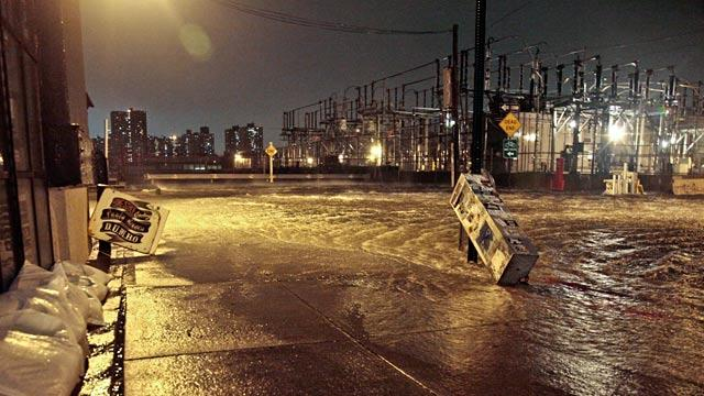 Superstorm Sandy: Live Updates