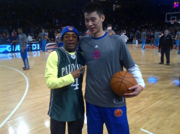 Spike Lee and Jeremy Lin — Twitter