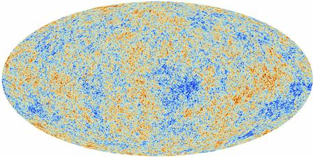 An image of the anisotropies of the Cosmic microwave background (CMB) as observed by Planck is seen in this handout released March 21, 2013 by the European Space Agency. REUTERS/ESA-Planck Collaboration/Handout