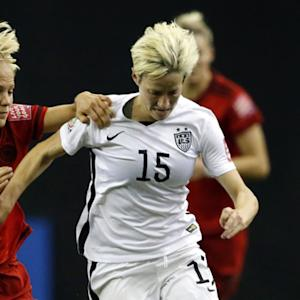 USA defeat Germany 2-0 in semi-finals
