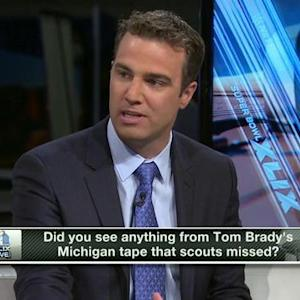 What did scouts miss with New England Patriots quarterback Tom Brady and tight end Rob Gronkowski?