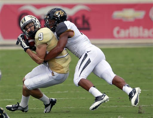 Missouri surges, wins 21-16 at Central Florida
