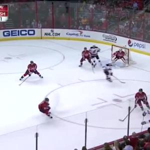 Braden Holtby Save on Damon Severson (18:40/1st)