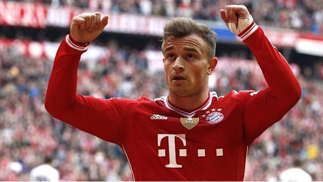 Champions League - Bayern midfielder Shaqiri out of Arsenal clash