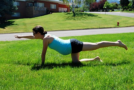 Yoga in the Yard