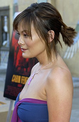 Lindsay Price at the LA premiere of Lions Gate's Cabin Fever