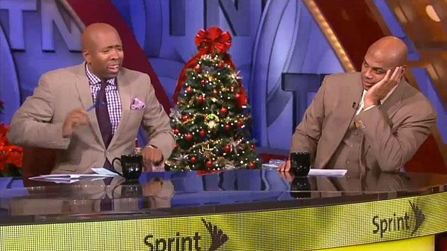 Charles Barkley unimpressed with Inside the NBA jam session