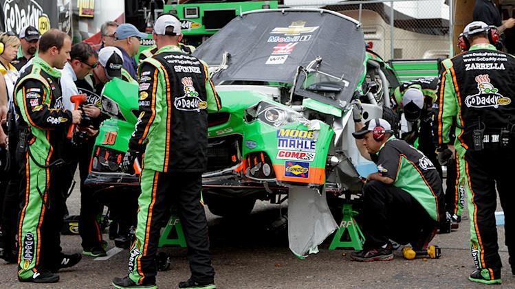 Danica looking to rebound at Vegas after crash
